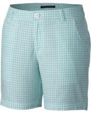 NEW Columbia Women's Super Bonehead 2 Checkered Shorts Size 6 $40 Retail