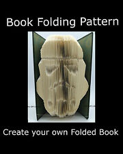 Storm Trooper,  Book Folding PATTERN to create your own folded book art