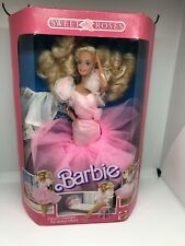 BARBIE  SWEET ROSES NRFB  MADE IN MALAYSIA 1989