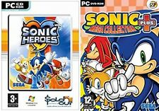 sonic mega collection plus & sonic heroes  new&sealed MULTI LANGUAGE RELEASE