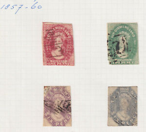 Tasmania collection, 45+, all stamps scanned