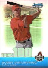2010 Bowman Chrome Topps 100 Prospects Refractors #TPC26 Bobby Borchering Diamon