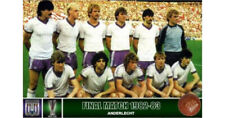 DVD Benfica - RSCA Anderlecht 1982 UEFA Aller retour Home and Away