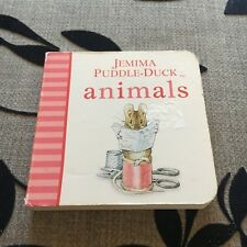 BEATRIX POTTER. JEMIMA PUDDLE-DUCK. ANIMALS. 9 BY 9CM BOARDED