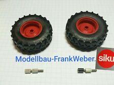 6769 6778 Zwilling Räder hinten Fendt mit FL   Siku control 1 :  32  1/32