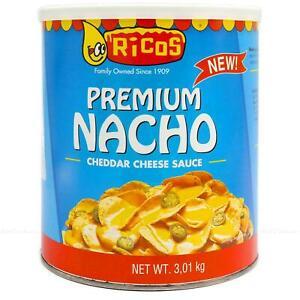 Rico's Gourmet Nacho Cheddar Cheese Sauce Tortilla Chips Dip 3kg | FREE P&P