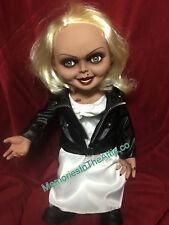"""Mezco Toyz Jumbo Child's Play Bride of Chucky Talking Tiffany 15"""" Doll Figure NR"""