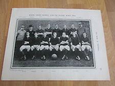 BURTON United Players Season 1905 - 06 Original Book of FOOTBALL Team Picture
