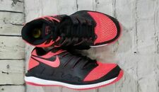 0adc6bd707f7 Nike Air Zoom Vapor X HC Tennis Shoes Blk Solar Red AA8030 006 MEN SZ 5