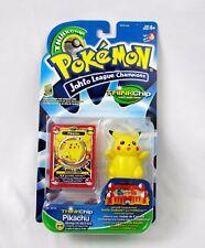 Pokemon Thinkchip Johto League Champions PIKACHU New NIB Sealed Interactive 2001