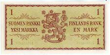 Finland 1 Markka BANKNOTE 1963