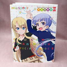 NEW GAME!! TV Anime Official Guide 2 - ANIME ARTBOOK NEW