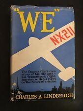 "Rare ""WE""~Charles Lindbergh, 1927 1st Edition/1st Print, Hardcover w/dust jacket"