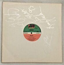 "Autographed Zebra ""Bears"" 12-Inch Single Vinyl"