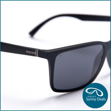 NEW Von Zipper Lesmore Polarised Black Smoke Satin Grey (SMPLES-PSV) Sunglasses