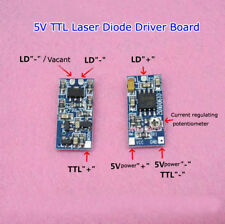 635nm 650nm 808nm 980nm TTL Laser Diode Driver Board 5V Supply Supply 50-300mA