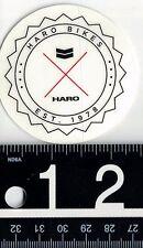 HARO BIKES STICKER Haro BMX Cycling Decal Bike 2.25 in Round Sticker