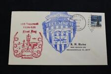NAVAL COVER 1964 COMMISSIONING USS TECUMSEH (SSBN-628) (6504)