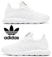 Adidas Swift Run Sneakers Casual Shoes Women's Running Athletic Comfort White