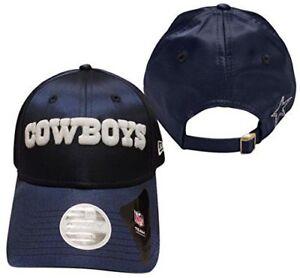 DALLAS COWBOYS NFL  NEW ERA WOMENS SATIN TEAM CHARMER STRAP BACK HAT CAP $26