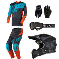 Motocross Off-Road Dirt Bike Jersey /& Pant 2019 Element Villain MX Riding Gear Combo Set Youth NEON Yellow Y-Large//Y-28W ONeal