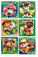 Paw Patrol Stickers x 6 - Birthday Party - Favours - Skye Chase Marshall Jungle