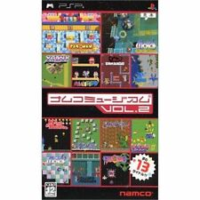 Used PSP Namco Museum Vol.2  SONY PLAYSTATION JAPAN IMPORT