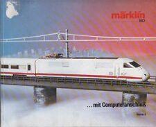 MARKLIN HO GAUGE MODEL RAILWAYS 1985-86 PRODUCT RANGE CATALOGUE ( GERMAN TEXT )