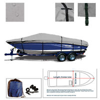 SLEEKCRAFT 30 VEE performance Jet Trailerable Boat Cover Gray