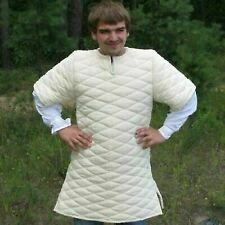 Halloween Costume Medieval thick padded Viking Gambeson Jacket reenactment Sca