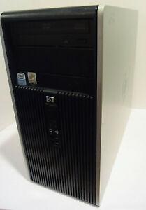 HP Compaq dc5700 Desktop PC (Intel Pentium D 2.80GHz 512MB 250GB Win 7 Pro)