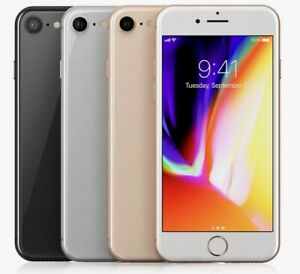 Apple iPhone 8 64GB Fully Factory Unlocked Verizon AT&T T-Mobile All Colors