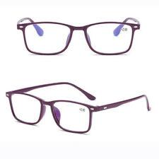 Men Women Classic Rectangle Frame Readers Reading Glasses +1.00 ~ +4.00 New