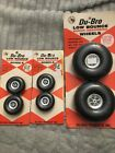 Du-Bro Low Bounce Wheels Lot for R/C Model Airplanes New Old Stock 175R 350T