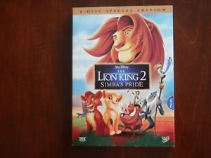 Disney's The Lion King 2 Simba's Pride 2 Disc Special Edition DVD 2004