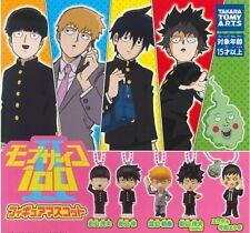 TOMY Mob Psycho 100 Mini Mascot Figure Gahsapon x5 Arataka Reigen Ritsu Kageyama