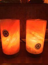Himalayan Salt Lamp Cylinder XXL  (2 Pack)