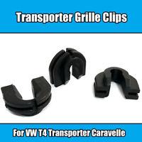 12x Clips For VW T4 Transporter Caravelle Front Grille Trim Fastener Plastic
