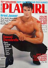 PLAYGIRL Magazine June 1995 TV's Bad Boy: Brent Jasmer, Sexual Daredevils