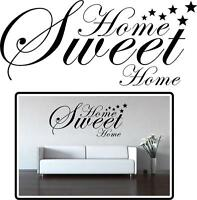Home Sweet Home Wall Art  Unique Designer Vinyl Stickers Pictures