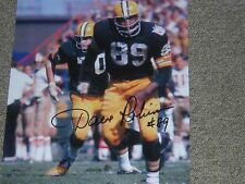 Dave Robinson signed in person Packers 8x10 photo