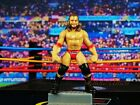 WWE MICRO AGGRESSION Wrestling Wrestler Figure Cake Topper James Storm K1041 K