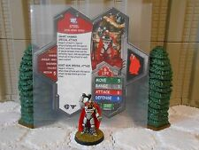 Heroscape Custom Steel Double Sided Card & Figure w/ Sleeve DC