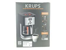 KRUPS 14-cup Programmable Coffee Maker EC3240 Thermobrew with Glass Carafe