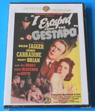 """""""I Escaped From The Gestapo"""", Harold Young, Dean Jagger, John Carradine,1943 DVD"""