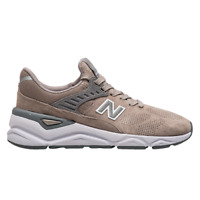 New Balance X-90 Women's Grey White Low Casual Athletic Lifestyle Sneakers Shoes