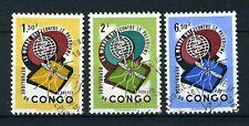 CONGO 462/464 gestempeld 1962 - Anti - Malaria