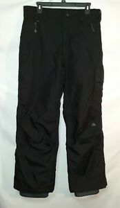 Nike Mens Black ACG Fit Storm Outer Layer Nylon Ski Snowboard Snow Pants Size M