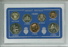 1989 Vintage Coin Set 28th Anniversaire Naissance Année Cadeau Anniversaire De Mariage Cadeau