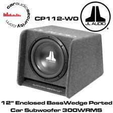 "JL Audio CP112-W0v3 12 ""racchiusa basswedge porting Auto Sub Subwoofer 300Wrms 12W0"